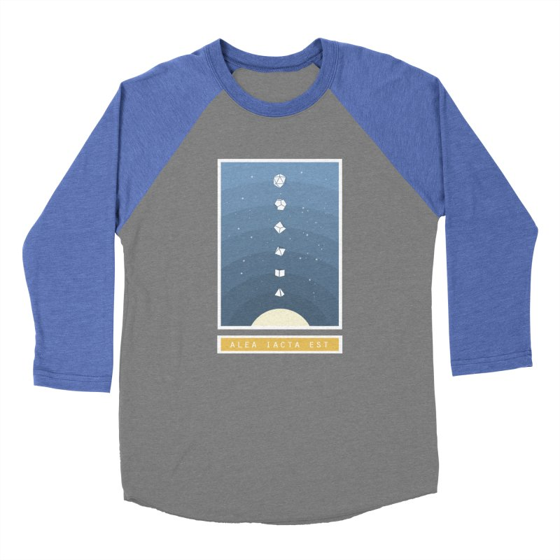 Many Sided System Men's Baseball Triblend Longsleeve T-Shirt by Critical Shoppe