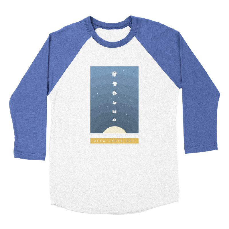 Many Sided System Men's Baseball Triblend Longsleeve T-Shirt by Critical Shoppe