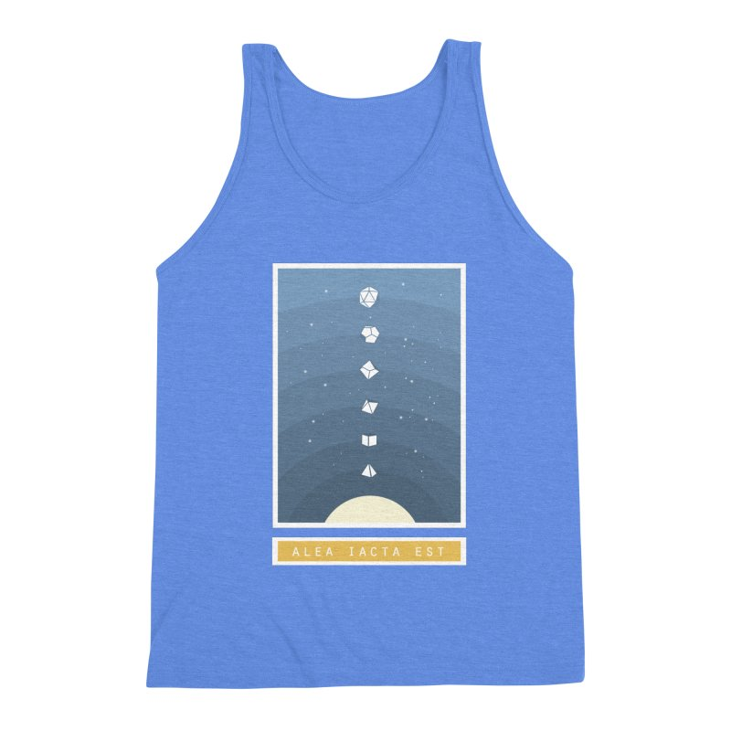 Many Sided System Men's Triblend Tank by Critical Shoppe