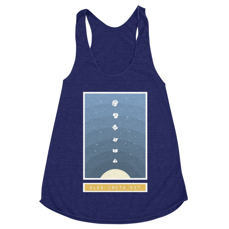 Many Sided System Women's Racerback Triblend Tank by Critical Shoppe