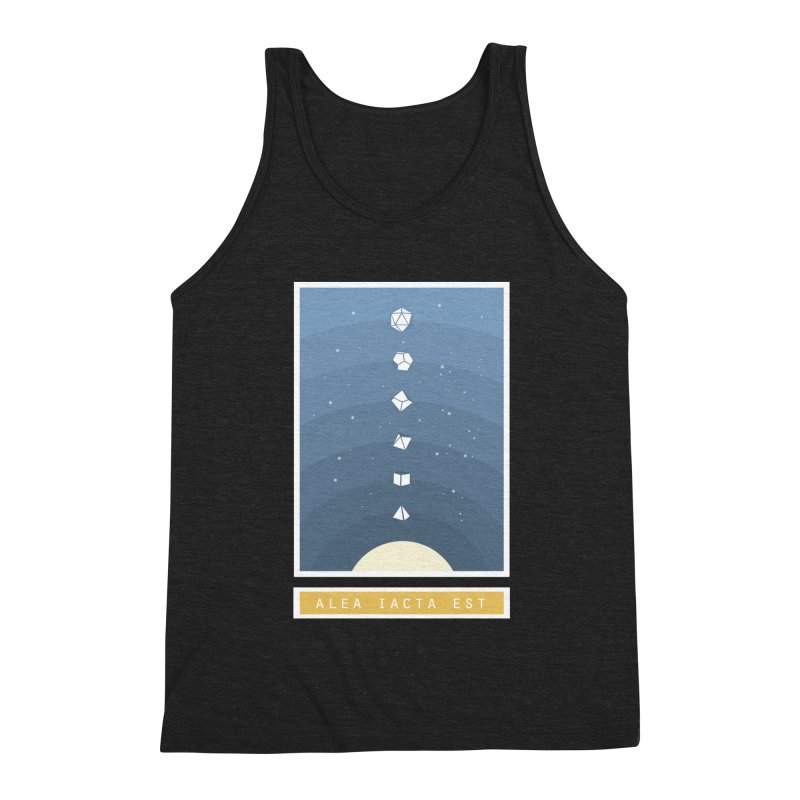 Many Sided System Men's Tank by Critical Shoppe