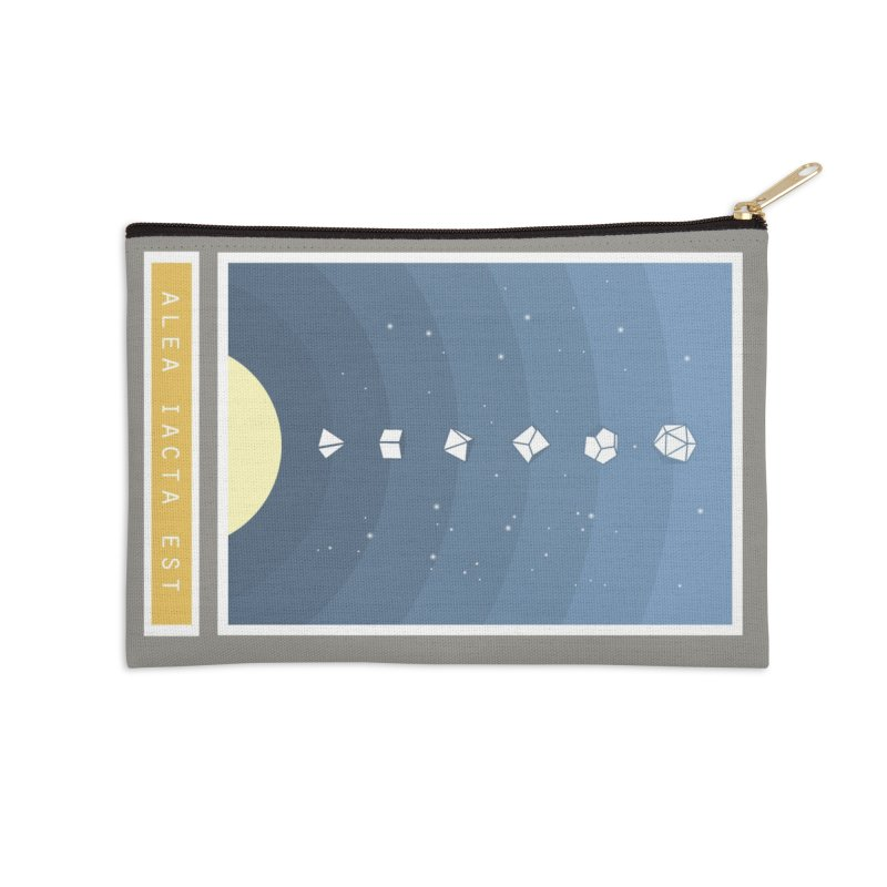 Many Sided System Accessories Zip Pouch by Critical Shoppe