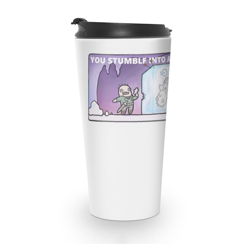 Crit Fail Morning Accessories Travel Mug by Critical Shoppe