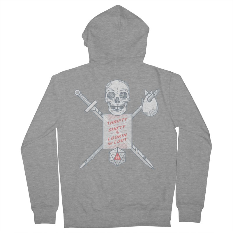 Murderhobo Women's Zip-Up Hoody by Critical Shoppe