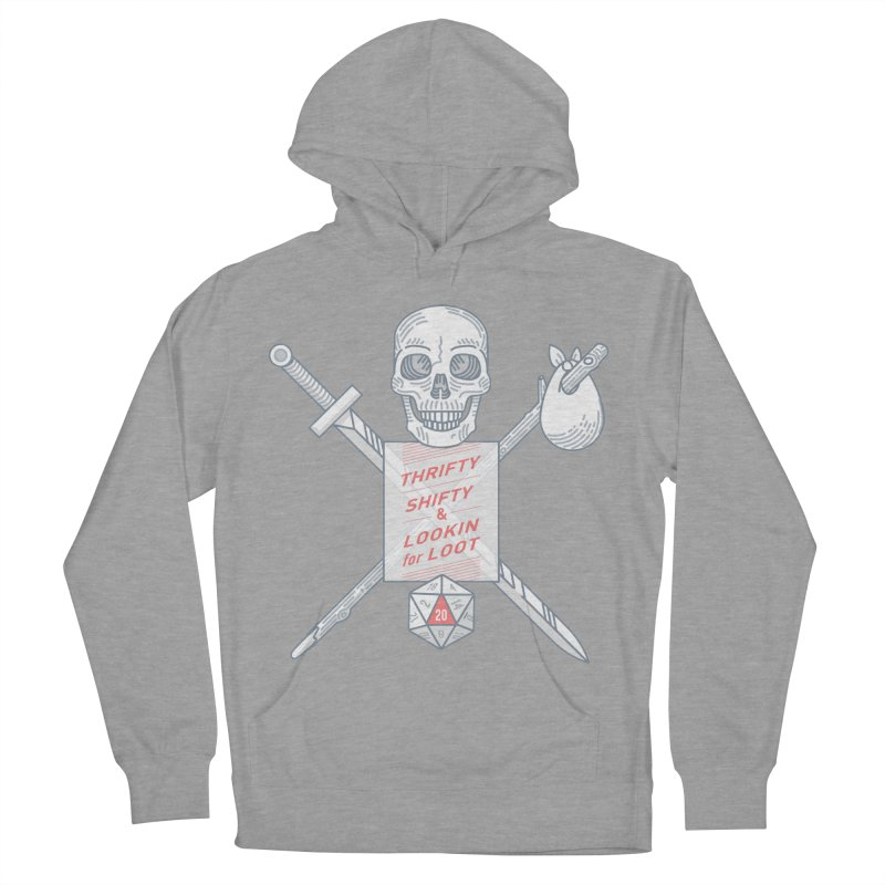 Murderhobo Men's French Terry Pullover Hoody by Critical Shoppe