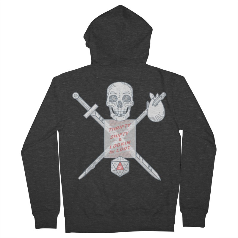 Murderhobo Men's French Terry Zip-Up Hoody by Critical Shoppe