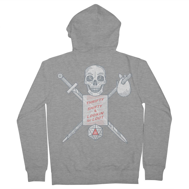 Murderhobo Men's French Terry Zip-Up Hoody by Critical Shoppe