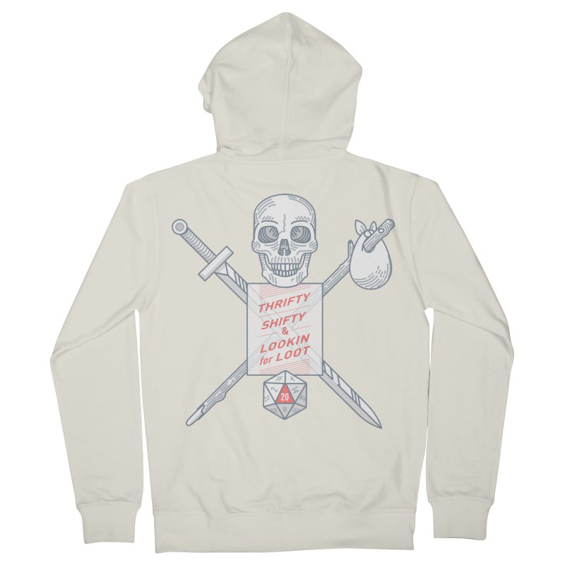 Murderhobo Men's Zip-Up Hoody by Critical Shoppe