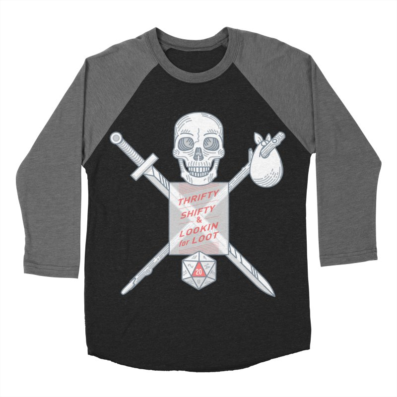 Murderhobo Men's Baseball Triblend T-Shirt by Critical Shoppe