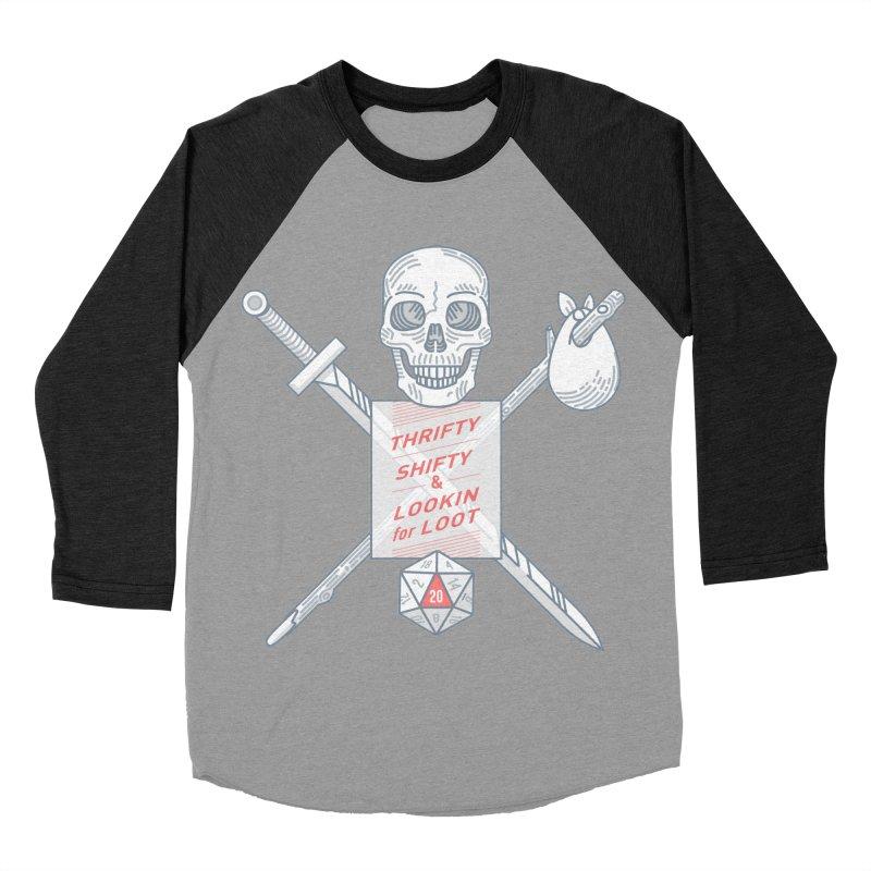 Murderhobo Men's Baseball Triblend T-Shirt by Critical Shoppe