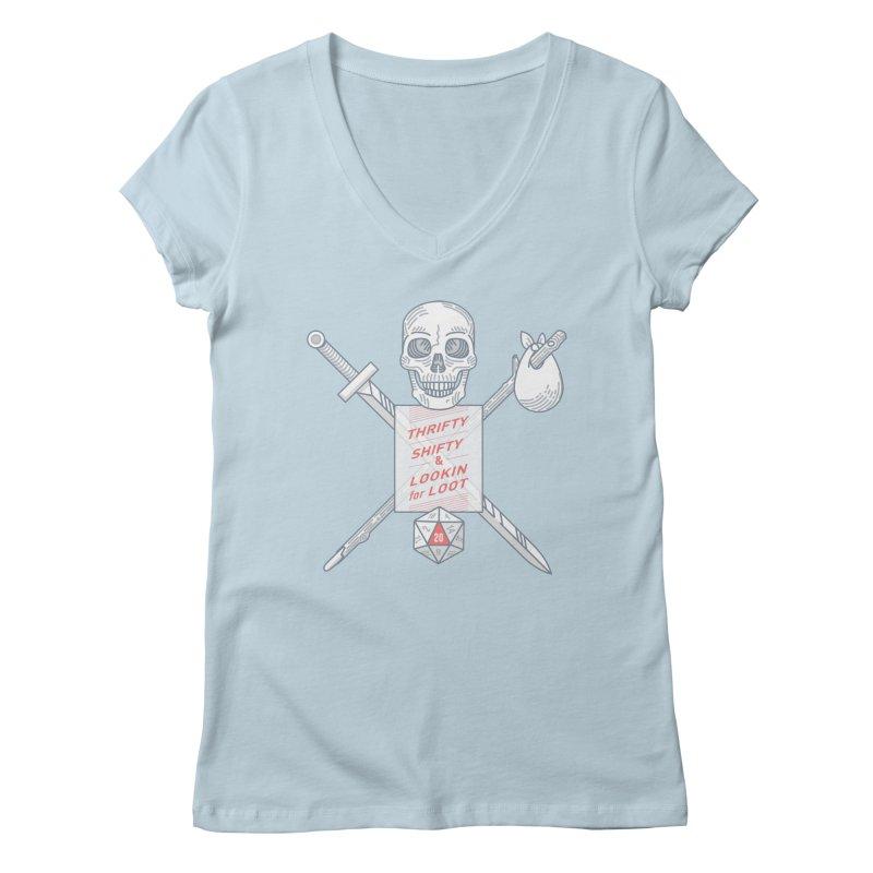 Murderhobo Women's V-Neck by Critical Shoppe
