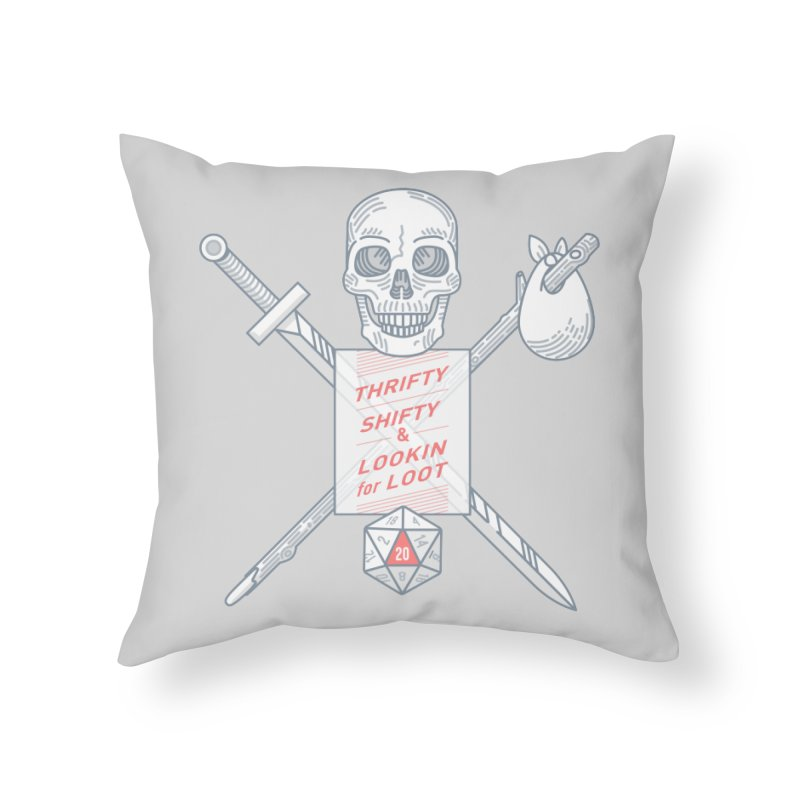 Murderhobo Home Throw Pillow by Critical Shoppe