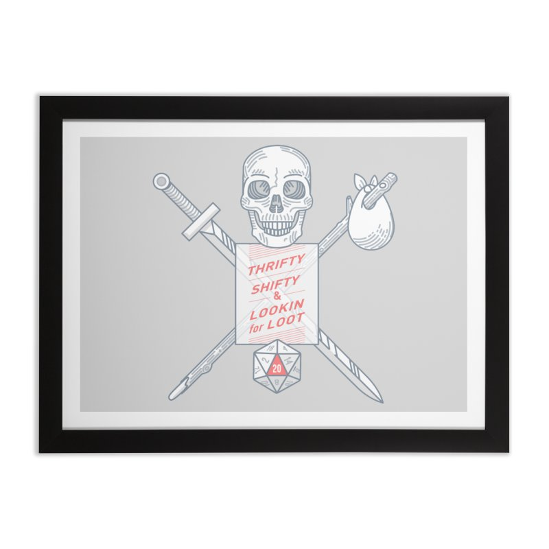 Murderhobo Home Framed Fine Art Print by Critical Shoppe