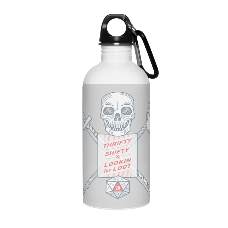 Murderhobo Accessories Water Bottle by Critical Shoppe
