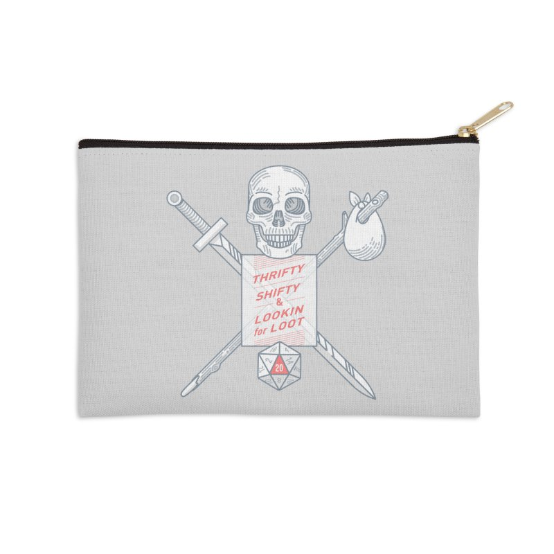 Murderhobo Accessories Zip Pouch by Critical Shoppe