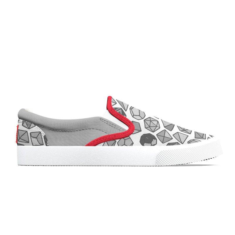 Dice Daze Shoes Grey Men's Shoes by Critical Shoppe
