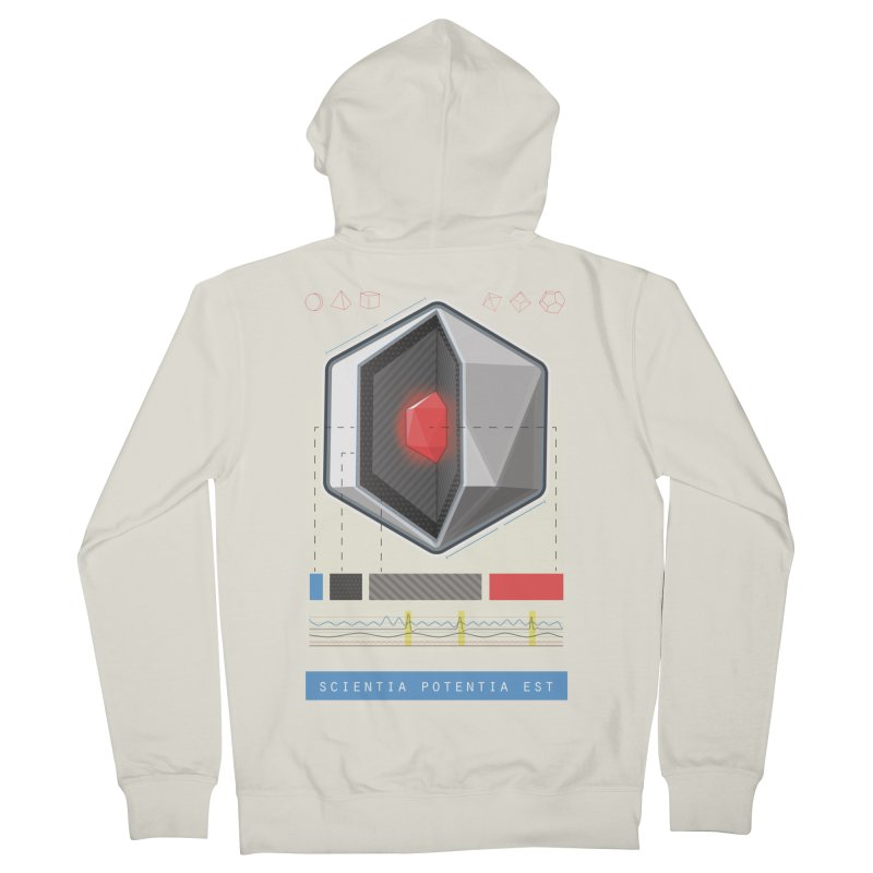 The D20 Core Men's French Terry Zip-Up Hoody by Critical Shoppe