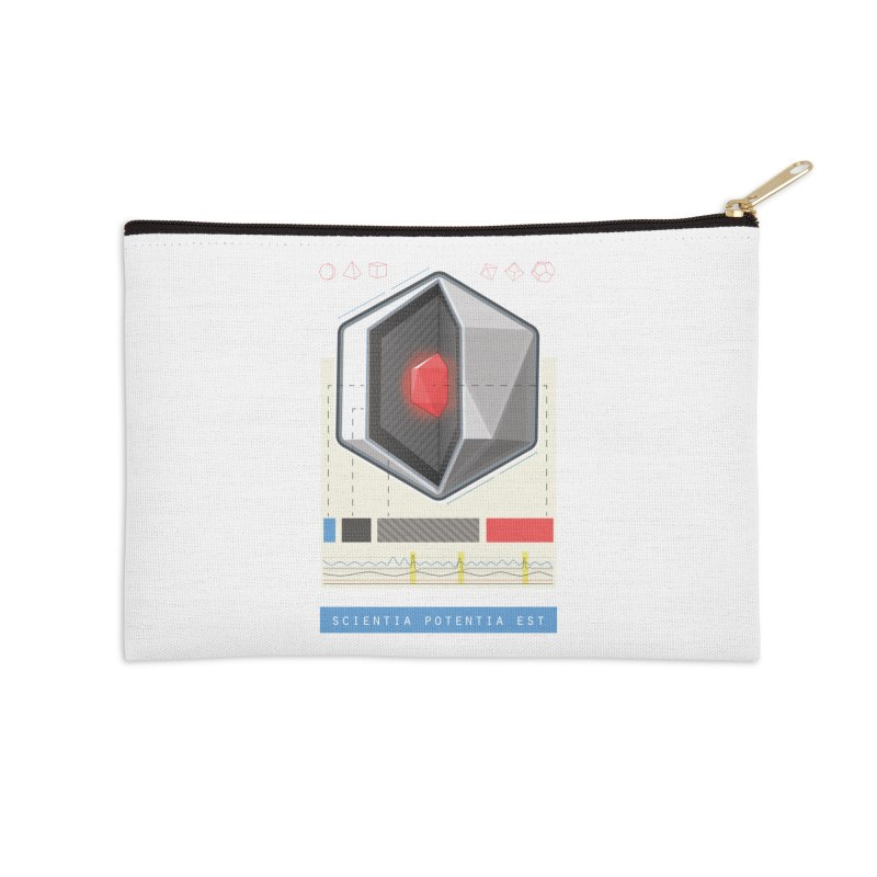 The D20 Core Accessories Zip Pouch by Critical Shoppe