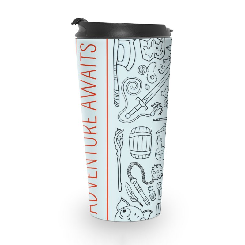 Adventure Awaits Accessories Travel Mug by Critical Shoppe