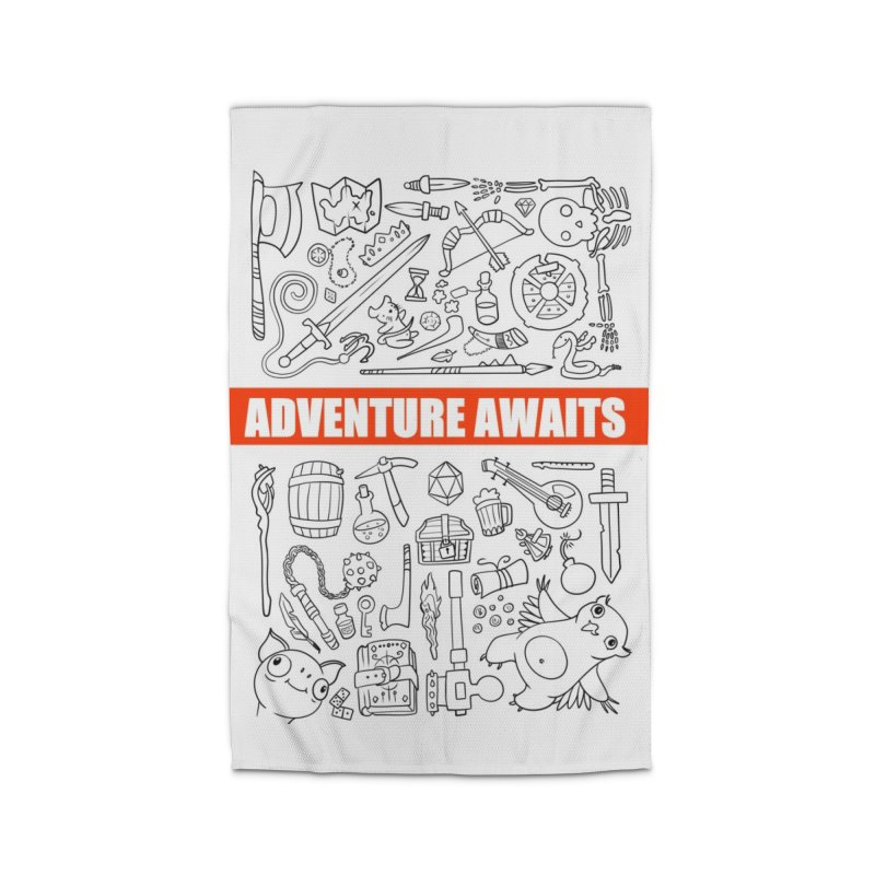 Adventure Awaits Home Rug by Critical Shoppe