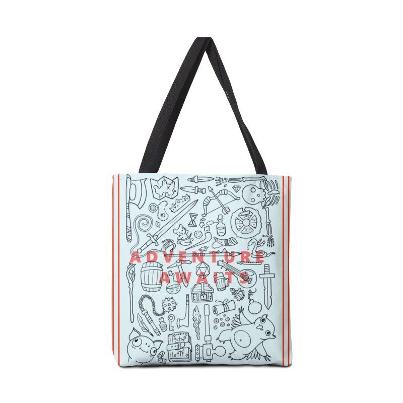 Adventure Awaits Accessories Tote Bag Bag by Critical Shoppe