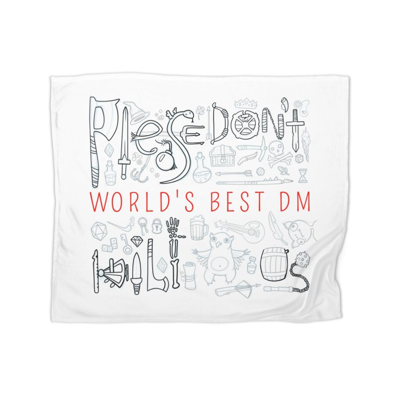World's Best DM Home Fleece Blanket Blanket by Critical Shoppe