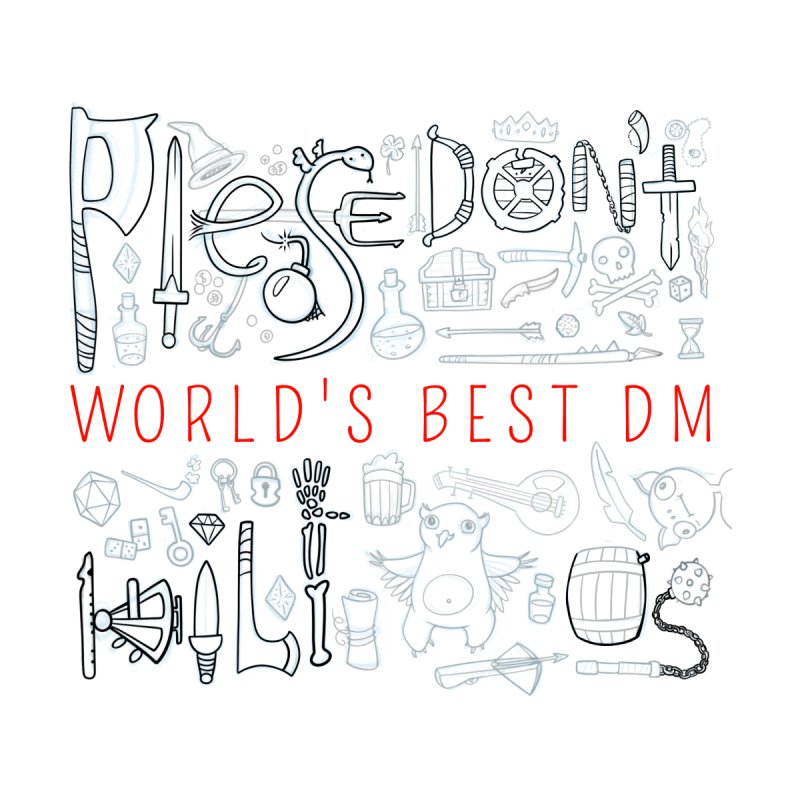 World's Best DM Accessories Notebook by Critical Shoppe