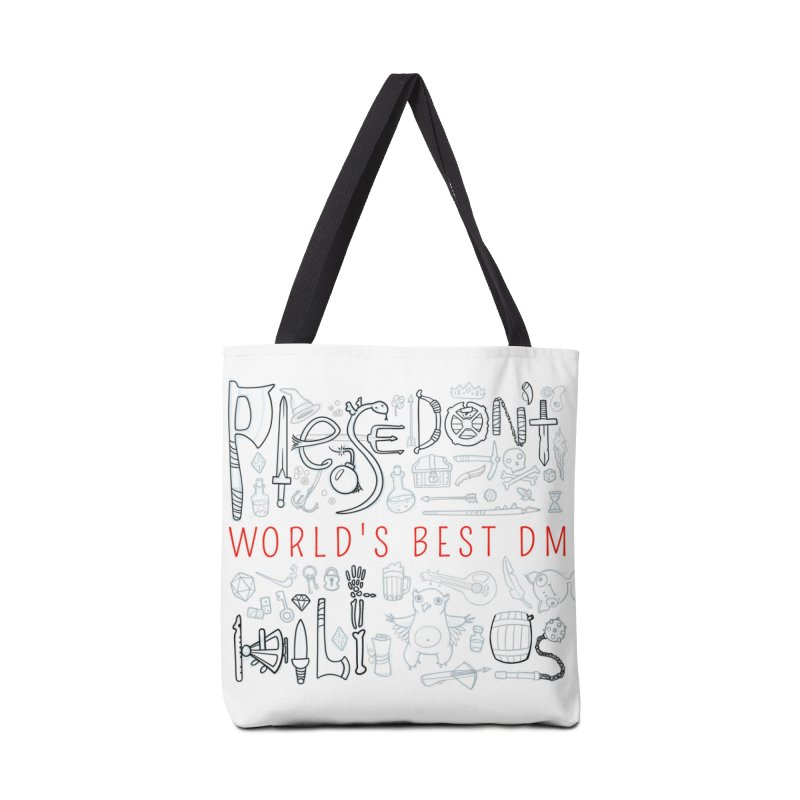 World's Best DM Accessories Tote Bag Bag by Critical Shoppe
