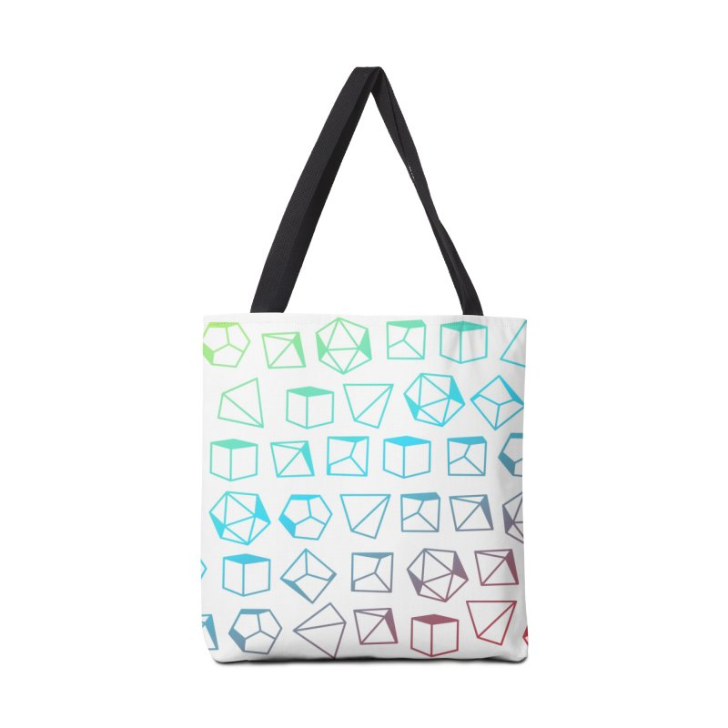 Dice on Dice on Dice Accessories Tote Bag Bag by Critical Shoppe