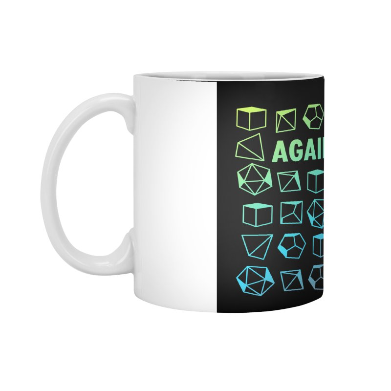 Against All Odds Accessories Standard Mug by Critical Shoppe