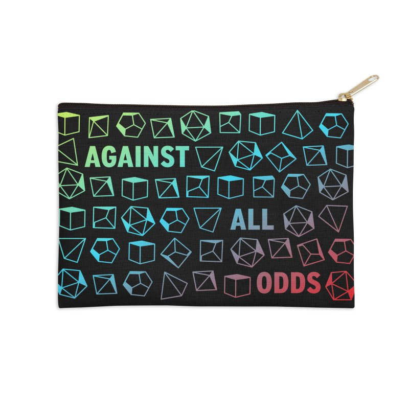 Against All Odds Accessories Zip Pouch by Critical Shoppe
