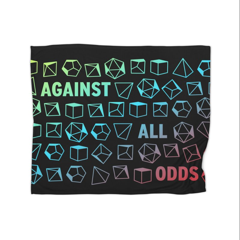 Against All Odds Home Blanket by Critical Shoppe