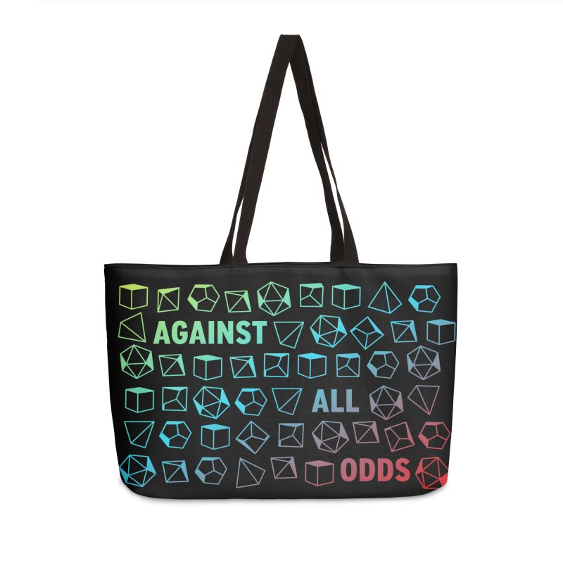 Against All Odds Accessories Weekender Bag Bag by Critical Shoppe