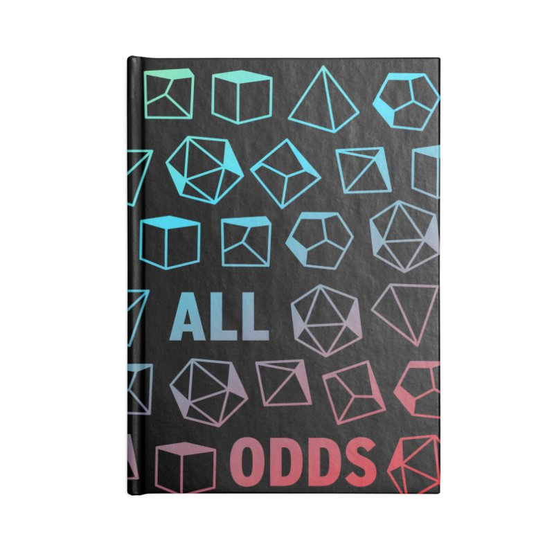 Against All Odds Accessories Lined Journal Notebook by Critical Shoppe