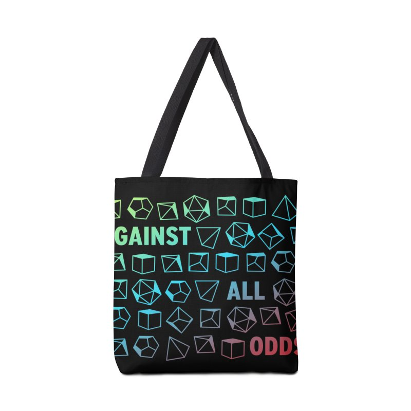 Against All Odds Accessories Tote Bag Bag by Critical Shoppe