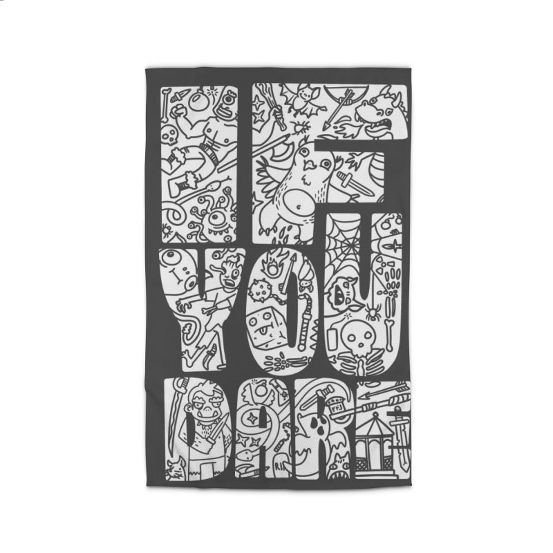 If You Dare Home Rug by Critical Shoppe