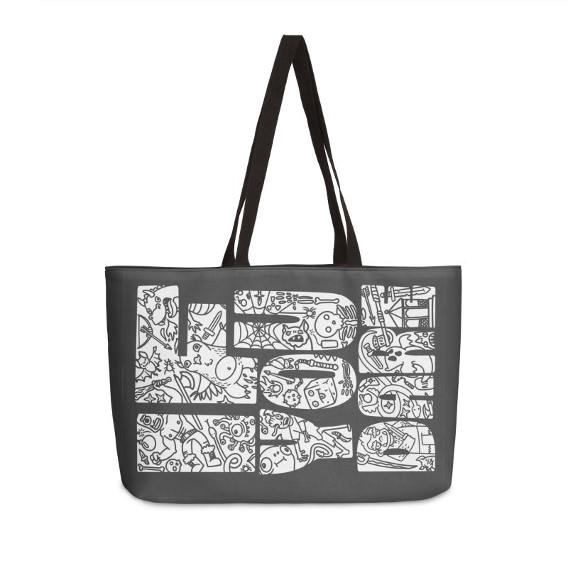 If You Dare Accessories Weekender Bag Bag by Critical Shoppe