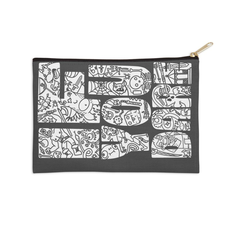 If You Dare Accessories Zip Pouch by Critical Shoppe