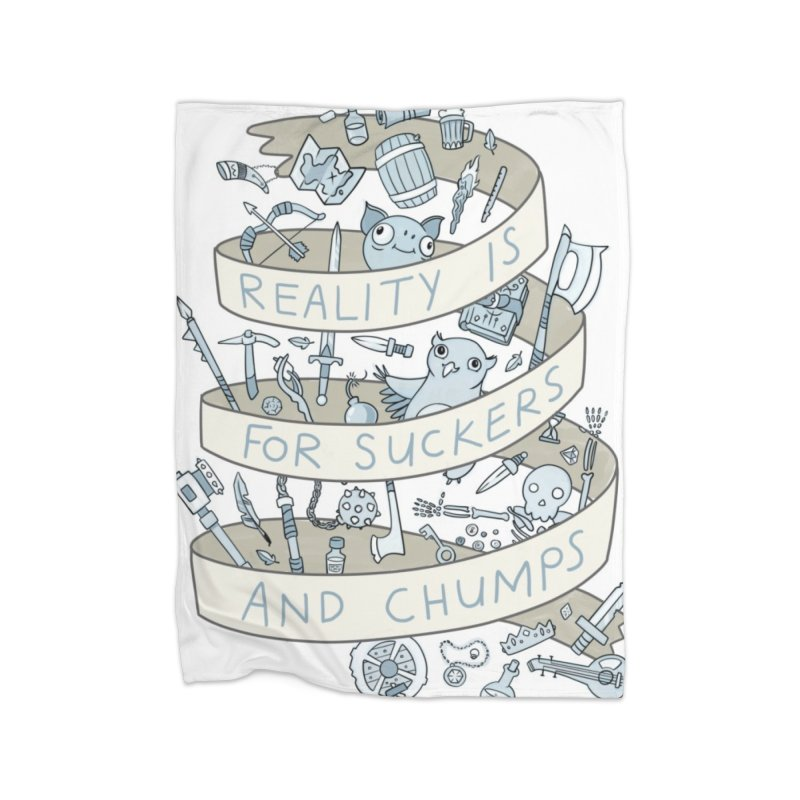 Fantasy is for Winners Home Blanket by Critical Shoppe