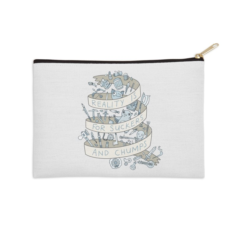 Fantasy is for Winners Accessories Zip Pouch by Critical Shoppe