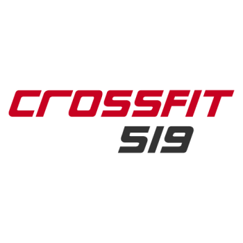 Crossfit519's Artist Shop Logo