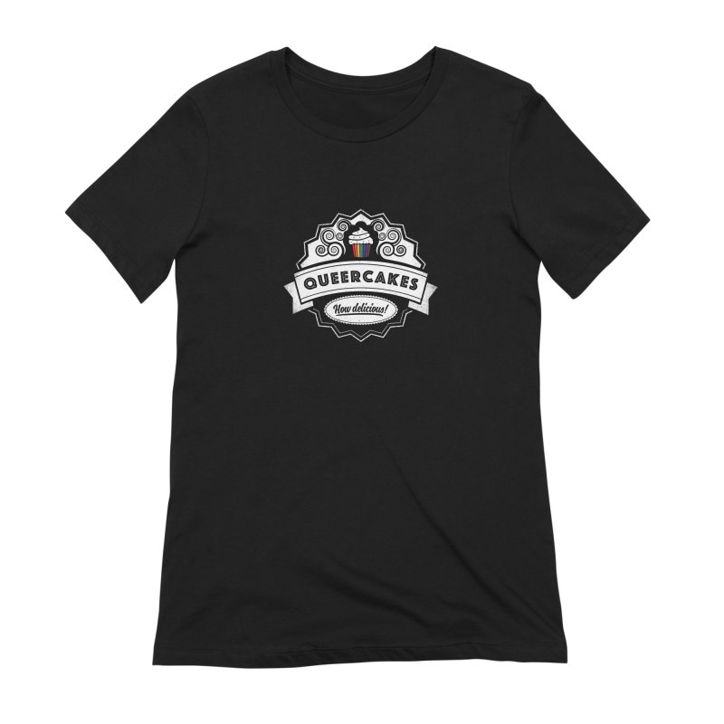 Queercakes Women's T-Shirt by Crowglass Design