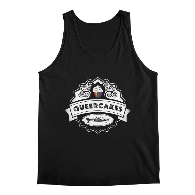 Queercakes Men's Regular Tank by Crowglass Design