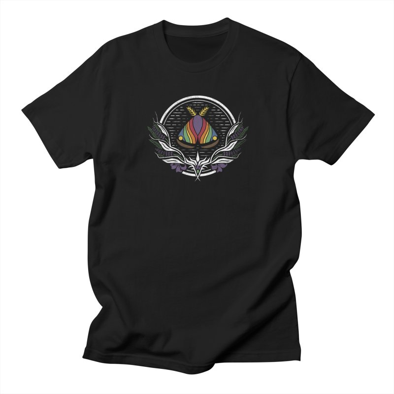Pride Moth Men's T-Shirt by Crowglass Design