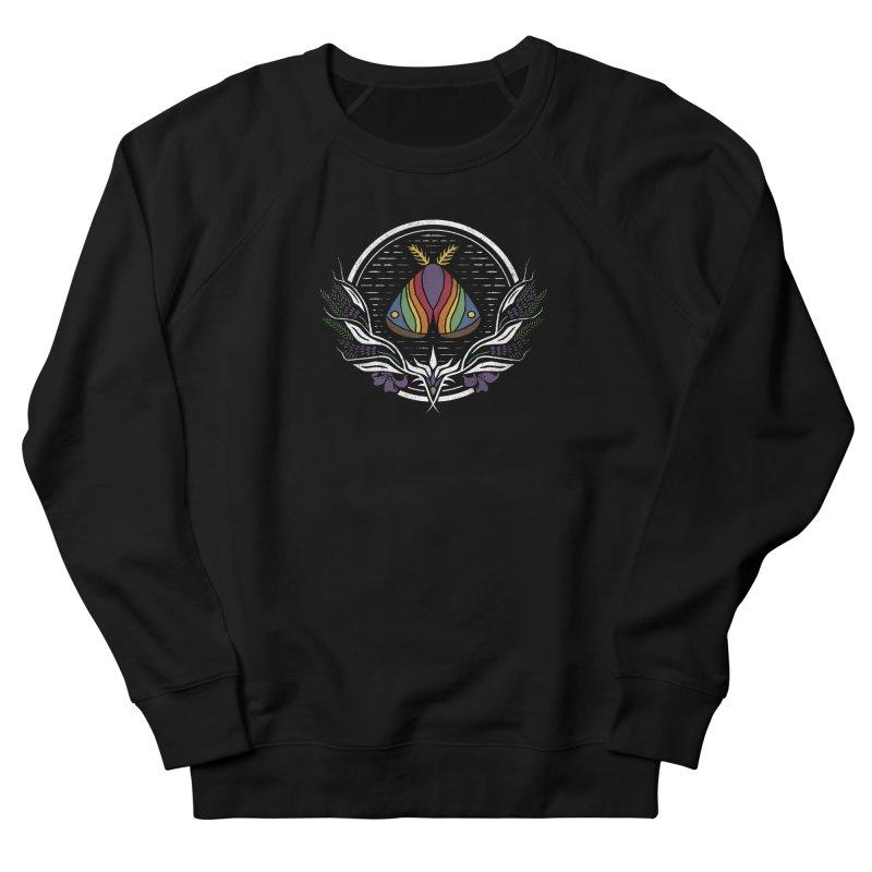 Pride Moth Women's French Terry Sweatshirt by Crowglass Design