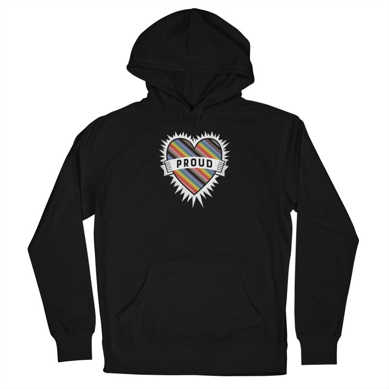 Proud Men's French Terry Pullover Hoody by Crowglass Design