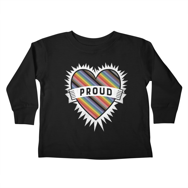 Proud Kids Toddler Longsleeve T-Shirt by Crowglass Design