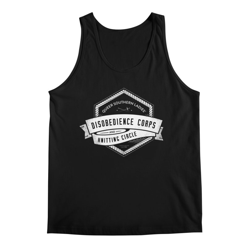 Disobedience and Knitting Men's Regular Tank by Crowglass Design