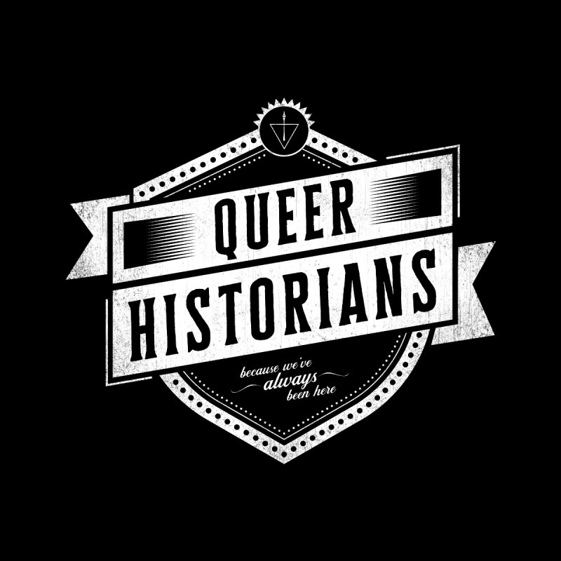 Queer Historians Women's V-Neck by Crowglass Design