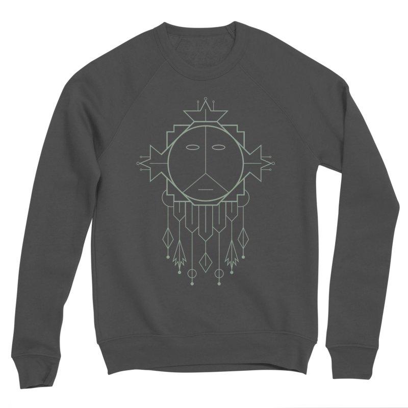 Queen Flora Men's Sponge Fleece Sweatshirt by Crowglass Design
